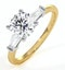 Isadora GIA Diamond Engagement Ring 18KY 1.25ct G/VS2 - image 1