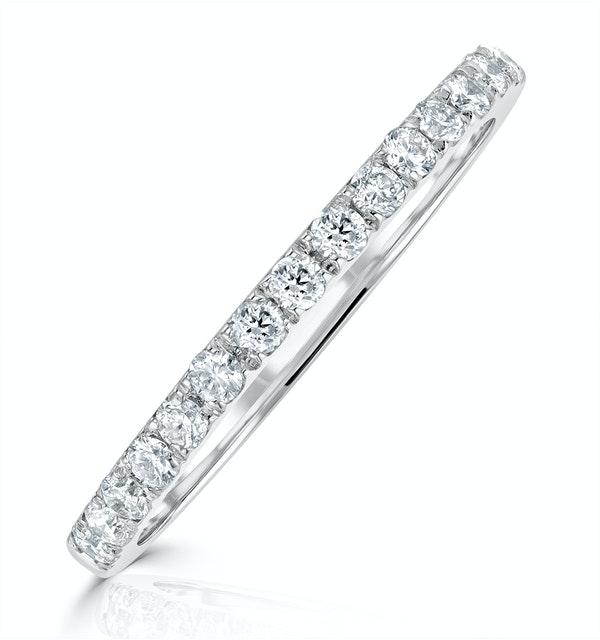 Camilla Matching Wedding Band 0.30ct G/Si Diamond in Platinum - image 1