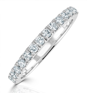 Meghan Matching Wedding Band 0.30ct G/Si Diamond in 18K White Gold