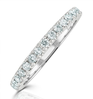 Anastasia Matching Wedding Band 0.40ct G/Si Diamond in Platinum