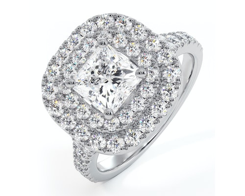 Cleopatra Engagement Rings