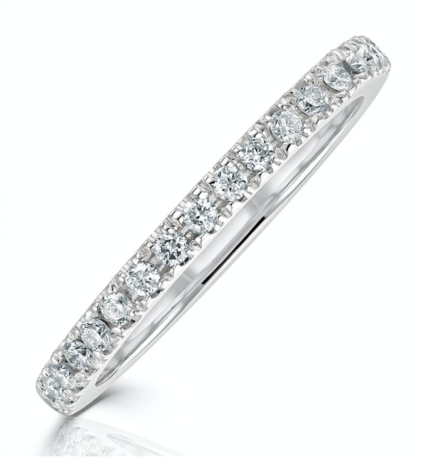 Beatrice Matching Wedding Band 0.30ct G/Si Diamond in 18K White Gold - image 1