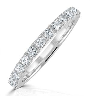 Katerina Matching Wedding Band 0.50ct G/Si Diamond in Platinum