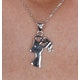 Mother and Child Diamond Tesoro Collection Necklace in 925 Silver - image 4