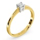 Certified Lauren 18K Gold Diamond Engagement Ring 0.25CT-F-G/VS - image 2