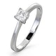 Certified Lauren Platinum Diamond Engagement Ring 0.33CT-F-G/VS - image 1