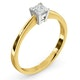 Certified Lauren 18K Gold Diamond Engagement Ring 0.33CT-G-H/SI - image 2