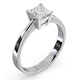 Certified Lauren Platinum Diamond Engagement Ring 0.75CT-F-G/VS - image 2