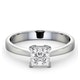 Certified Lauren Platinum Diamond Engagement Ring 0.75CT-F-G/VS - image 3