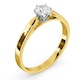 Low Set Chloe Lab Diamond Engagement Ring IGI 0.50ct F/VS1 18K Gold - image 2