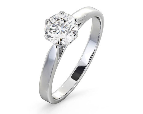 Lab Created Diamond Engagement Rings