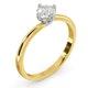 Lily Certified Lab Diamond Engagement Ring IGI 0.50ct H/SI1 18K Gold - image 2