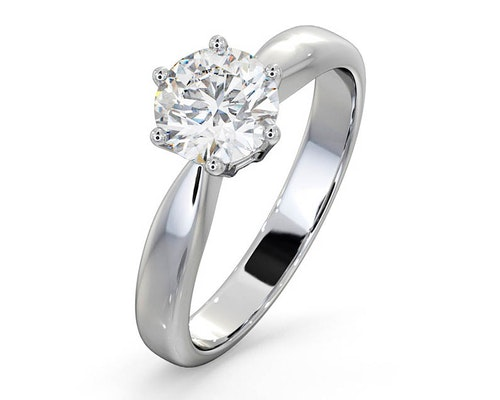 High Set Chloe Engagement Rings