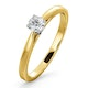 Engagement Ring Certified Petra 18K Gold Diamond  0.25CT-F-G/VS - image 1