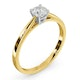 Engagement Ring Certified 0.50CT Petra 18K Gold  G/SI2 - image 2