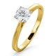 Engagement Ring Certified 0.70CT Petra 18K Gold  G/SI1 - image 1