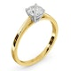 Engagement Ring Certified 0.70CT Petra 18K Gold  G/SI1 - image 2