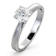 Engagement Ring Certified 0.90CT Petra Platinum  G/SI1 - image 1