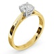 Engagement Ring Certified 0.90CT Petra 18K Gold  G/SI2 - image 2