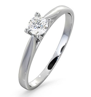 Engagement Ring Grace 0.25ct Lab Diamond G/Vs in Platinum