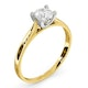 Certified Grace 18K Gold Diamond Engagement Ring 0.50CT - image 2