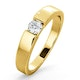 Certified Jessica 18K Gold Diamond Engagement Ring 0.25CT - image 1