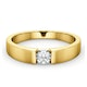 Certified Jessica 18K Gold Diamond Engagement Ring 0.25CT - image 3