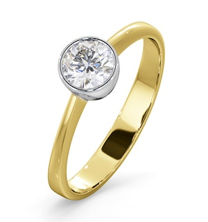 Diamond Engagement Ring - Round Emily 0.50CT 18K Gold