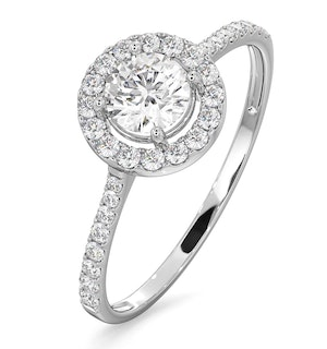 Ella Round Engagement Rings