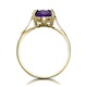 Amethyst 2.25ct 9K Gold Ring - image 2