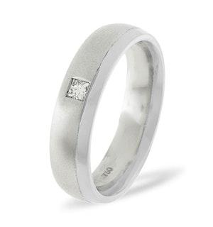 Lauren Platinum Diamond Wedding Ring 0.08CT G/VS