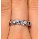Tanzanite 2.25 x 2.25mm And Diamond 9K White Gold Ring - image 3