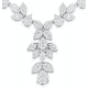 Diamond Necklace - Pyrus - 8.5ct of H/Si Diamonds in 18K White Gold - image 3