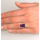 Amethyst 6.40ct And Diamond 9K Gold Ring - image 4