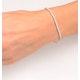 Diamond Tennis Bracelet Chloe 3.00ct Premium Claw Set 18K White Gold - image 4
