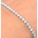 Diamond Tennis Bracelet Chloe 5.00ct H/Si Claw Set in 18K White Gold - image 3