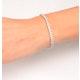 Diamond Tennis Bracelet Chloe 5.00ct H/Si Claw Set in 18K White Gold - image 4
