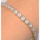Ava Diamond Cluster Bracelet 3.00ct G/Vs Quality set in 18K White Gold - image 2