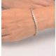 Ava Diamond Cluster Bracelet 3.00ct G/Vs Quality set in 18K White Gold - image 3