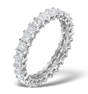 Eternity Ring Lauren Diamond 2.00ct and Platinum