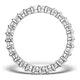 Eternity Ring Lauren Diamond 2.00ct and Platinum - image 2