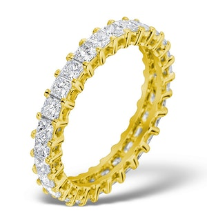 Eternity Ring Lauren Diamond 2.00ct H/Si and 18K Gold Ring