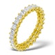 Eternity Ring Lauren Diamond 2.00ct H/Si and 18K Gold Ring - image 1