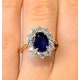 Sapphire 2.30ct And Diamond 1.00ct 18K Gold Ring - image 4