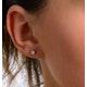 Diamond Earrings 0.20CT Studs G/Vs Quality in 18K White Gold - 3mm - image 4