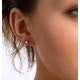 Diamond Earrings 0.30CT Studs Premium Quality in 18K White Gold 3.4mm - image 4