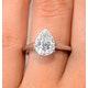 1ct Diamond and 18K White Gold Galileo Ring FT69 - image 4
