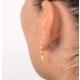 Yellow Sapphire 0.52CT And Diamond 9K Yellow Gold Earrings - image 4