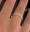 Eternity Ring Lauren Diamonds H/SI and Ruby 1.10CT in 18K Gold - image 4