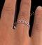Eternity Ring Lauren Diamonds G/VS and Ruby 1.10CT - 18K White Gold - image 4